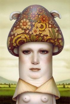 Naoto Hattori - La femme champignon,  2015