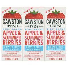 Cawston Press Kids Blend Apple And Summer Berries 600 Ml (Pack Of Fruit Water, Fruit Juice, Fresco, Help Constipation, Juice For Life, Juice Packaging, Juicing For Health, Summer Berries, Lower Blood Pressure