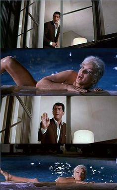 """Marilyn Monroe with Dean Martin in clips from Marilyn's last film """"Something's Got to Give"""" - 1962 - which was never completed due to Marilyn's sudden death!"""