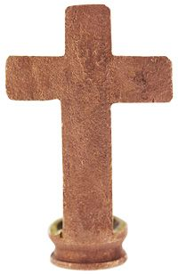 Liberian Recycled Bullet Cross at The Hunger Site- $7.95