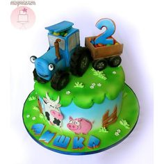 Best birthday men cake how to make ideas 21st Birthday Cake For Girls, Baby Birthday Cakes, Pretty Cakes, Beautiful Cakes, Amazing Cakes, Dessert Quotes, Little Boy Cakes, Farm Cake, Take The Cake