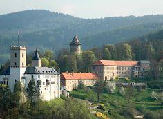 Rožmberk nad Vltavou Castle, Czech Rep.