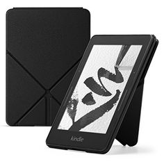 Amazon Kindle Voyage Leather Origami Case, Black >>> Details can be found by clicking on the image.