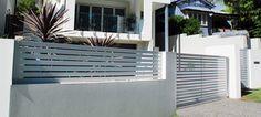 Pre-Fabricated Slat Privacy Screens - Landscape Design Brisbane