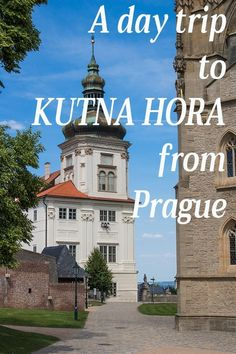 Kutna Hora on a day trip from Prague: things to do - Irma Naan World Do you want to visit the bone church in Kutna Hora, but don't know how to get there? What are other things to do in Kutna Hora? I have answers in my guide. Prague Things To Do, Day Trips From Prague, Places To Eat, Cool Places To Visit, Travel Destinations, Travel Tips, Travel Guides, Travel Around The World, Around The Worlds