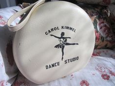 Super Cute Dance Case with Ballerina Dancer and Studio Name. $30.00, via Etsy.