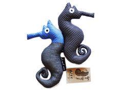 Blue Wee Seahorse