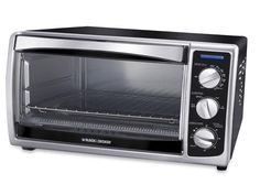 The Black & Decker Convection Countertop Toaster Oven is a budget-friendly and compact option that excels at broiling and baking.