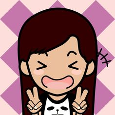 Woo I made myself on an app called FaceQ XD . It's not really art but it's fun and you should get it if you wanna kill time :3