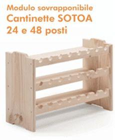 Cantinetta porta bottiglie vino in legno triangoli home for Portabottiglie vino fai da te