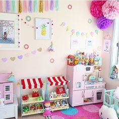 Little girl bedrooms, big girl rooms, montessori room, toddler rooms, k