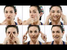 Exercícios de ginástica facial contra as rugas!