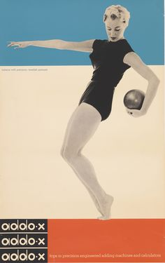Ladislav Sutnar (American and Czech, 1897-1976) for A. B. Addo (Malmˆ, Sweden). Addo-x, 1958. Offset lithograph. 96.8 x 61.3 cm (38 1/8 x 24 1/8 in.). Gift of Anonymous Donor, 1994-109-7. Photo by Matt Flynn.