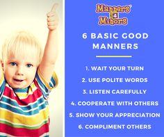 [6 Basic Good Manners]