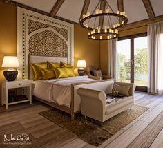 Mediterranean Bedroom on Behance