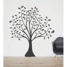 Beautiful Black Tree Wall Sticker Decal Ideal for Kids Room Baby Nursery Home Decor Large Wall Decals, Removable Wall Stickers, Wall Stickers Murals, Vinyl Wall Decals, Vinyl Decor, Church Nursery Decor, Modern Nursery Decor, Room Decor, Personalized Wall Art