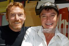 VH1 presents to TCA In Los Angeles, United States On July 24, 2004-Danny Bonaduce and David Cassidy of VH1's 'In Search of the Partridge Family' at Television Critics Association's (TCA) Press Tour.
