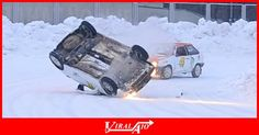 Rally car fails to take corner on snowy track …  - #Viral #Trending #Videos #Video #Clips #Picture #Pictures #Pic #Pics #Funny