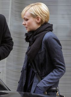 Carey Mulligan hair - side view