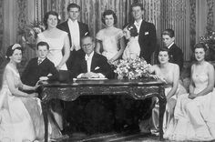 The Kennedys The illustrious clan gathers for a group portrait taken in 1937, when father Joseph served as ambassador to England. From left: Rose, Ted, Rosemary, Joe Jr., Joe Sr., Eunice, Jean, John, Bobby, Patricia and Kathleen.