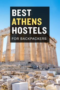 Looking for a cheap place to stay in Athens? Check out our list of the best hostels in Athens, Greece. Mykonos Greece, Crete Greece, Athens Greece, Santorini, Europe Travel Tips, Travel Guides, Places To Travel, Travel Destinations, European Destination