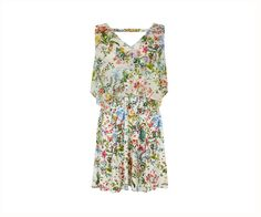 Oasis, Chiffon Detail Dress Mid Neutral 0