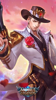Wallpaper HD Clint Mobile Legendsis free HD Wallpaper Thanks for you visiting 46 New Mobile Legends Wallpapers 2018 Mobile Legends HD Wallp. Black Wallpaper Iphone, Boys Wallpaper, Animal Wallpaper, Nature Wallpaper, Wallpaper Maker, Wallpaper Desktop, Hp Mobile, Alucard Mobile Legends, Moba Legends