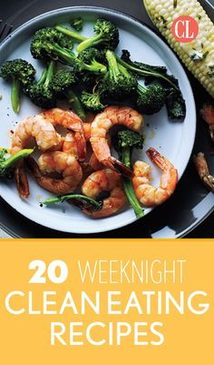 This collection of family dinners will show you how easy it can be to eat clean and banish unhealthy ingredients for good. These clean eating recipes come together in less than an hour and all use simple ingredients that you likely have on hand or can easily pick up. | Cooking Light