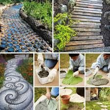 15 Easy Diy Outdoor Projects To Make Your Backyard Awesome: 25 Easy DIY Garden Projects You Can Start Now – World Best Image Diy Garden Projects, Garden Crafts, Garden Art, Farm Projects, Outdoor Projects, Landscape Structure, Landscape Design, Path Design, Design Ideas