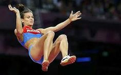 London 2012 Olympics Yelena Isinbayeva's pole vault reigns