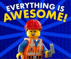 Lego Movie 'Everything is Awesome' Lyrics a Critique of Obama Administration Lego Movie Party, Lego Film, Love Movie, I Movie, La Grande Aventure Lego, Bucket Drumming, Film D'animation, Lego Birthday, Birthday Parties