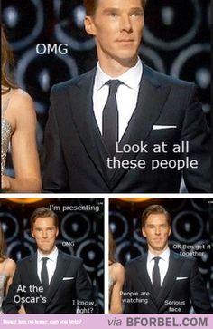 When Benedict Cumberbatch Got On Stage…