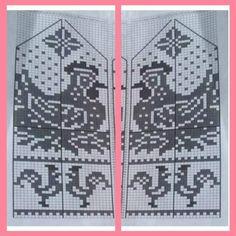 "Вязание. Жаккард - ""Зимняя радуга"" | VK Knitted Mittens Pattern, Knit Mittens, Knitted Gloves, Knitting Socks, Baby Knitting, Knitting Charts, Knitting Stitches, Knitting Patterns, Graph Design"