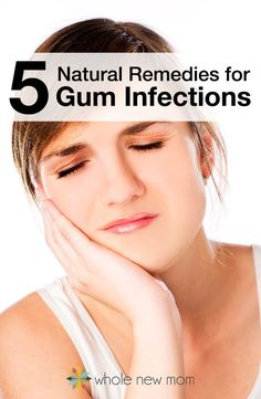 Got a gum infection and want to avoid antibiotics? These 5 Natural Remedies for gum infections really work! They've kept me out of the dentist's office many times.