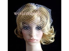 On Sale Pick of nose White OR Ivory Bridal Weding by WESTERNBRIDE, $15.99