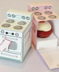 #food #cupcake #packaging #desing http://monocomebanana.wordpress.com/2013/09/27/food-packaging/