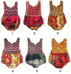 2T, Handmade Kantha Toddler Romper, Littlemoon clothing, One of a kind baby romper, Hippie Baby, Boho Baby, Aztec Baby Dress