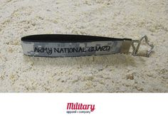 """This handcrafted key chain is proudly Made in America. Our patriotic key chain is just the right size so you'll never lose your keys again! Moreover, this US Army National Guard key chain is the perfect item to show off your military pride.   Handcrafted from genuine military fabric and strong nylon webbing, this key chain will stand the test of time. Excellent gift for yourself and for your Military friends and family members!!! 1""""x6"""""""