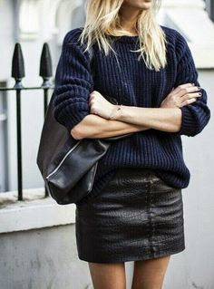 mixing navy and black @dcbarroso