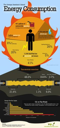 how the average person uses electricity