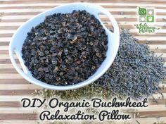 DIY Organic Buckwheat Relaxation Pillows