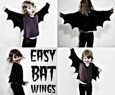 These Wings For BATMAN! Or Bat Boy. Or Just a Bat!