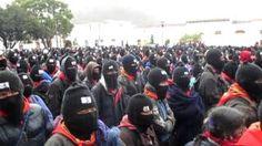 Marcha Zapatista en Silencio. 21 de diciembre de 2012. San Cristóbal de las Casas., via YouTube.
