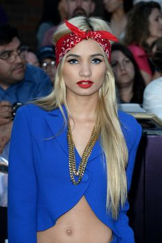 Pia Mia Perez Hair