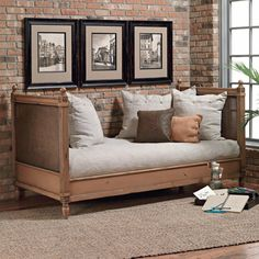 Custom Design Solid Wood Beds Margeaux Daybed by Old Biscayne Designs