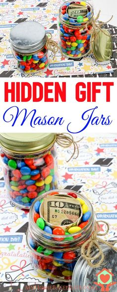 Perfect Gift Idea for all ages!  Hidden Gifts In a jar!