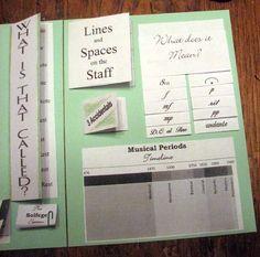 Summer Piano Projects -  Music Theory Lapbooks! #WestMusic #InspireMyClass