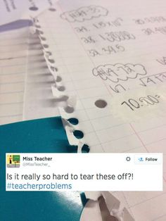 33 Problems That All Teachers Will Understand