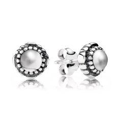 April Birthstone Stud Earrings - 290543BK