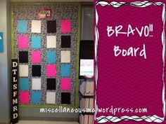 miscellaneousme.wordpress.com cara's classroom 2012 bravo board